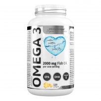 Kevin Levrone Omega Fish Oil 2000мл 120капсул