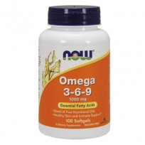 Now Foods Omega 3-6-9 100капсул